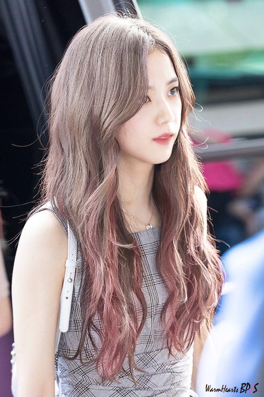 All About Kim Jisoo Blackpink Jisoo Hairstyle Blackpink Photos