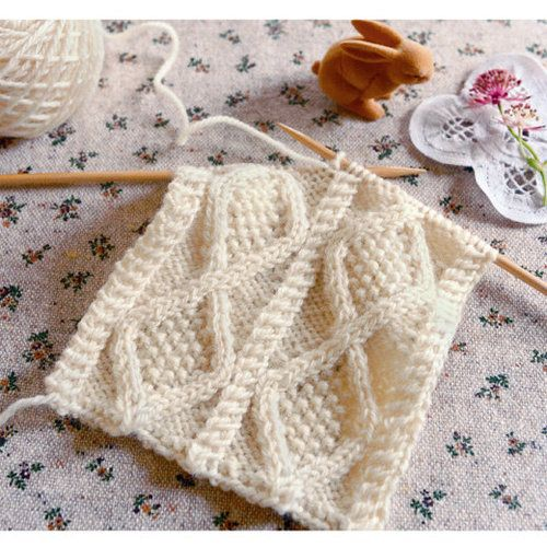 sweet delicate knitting