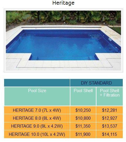 Heritage Lap Pool And Plunge Pool Design Pool Sizes Pool Cost Pool