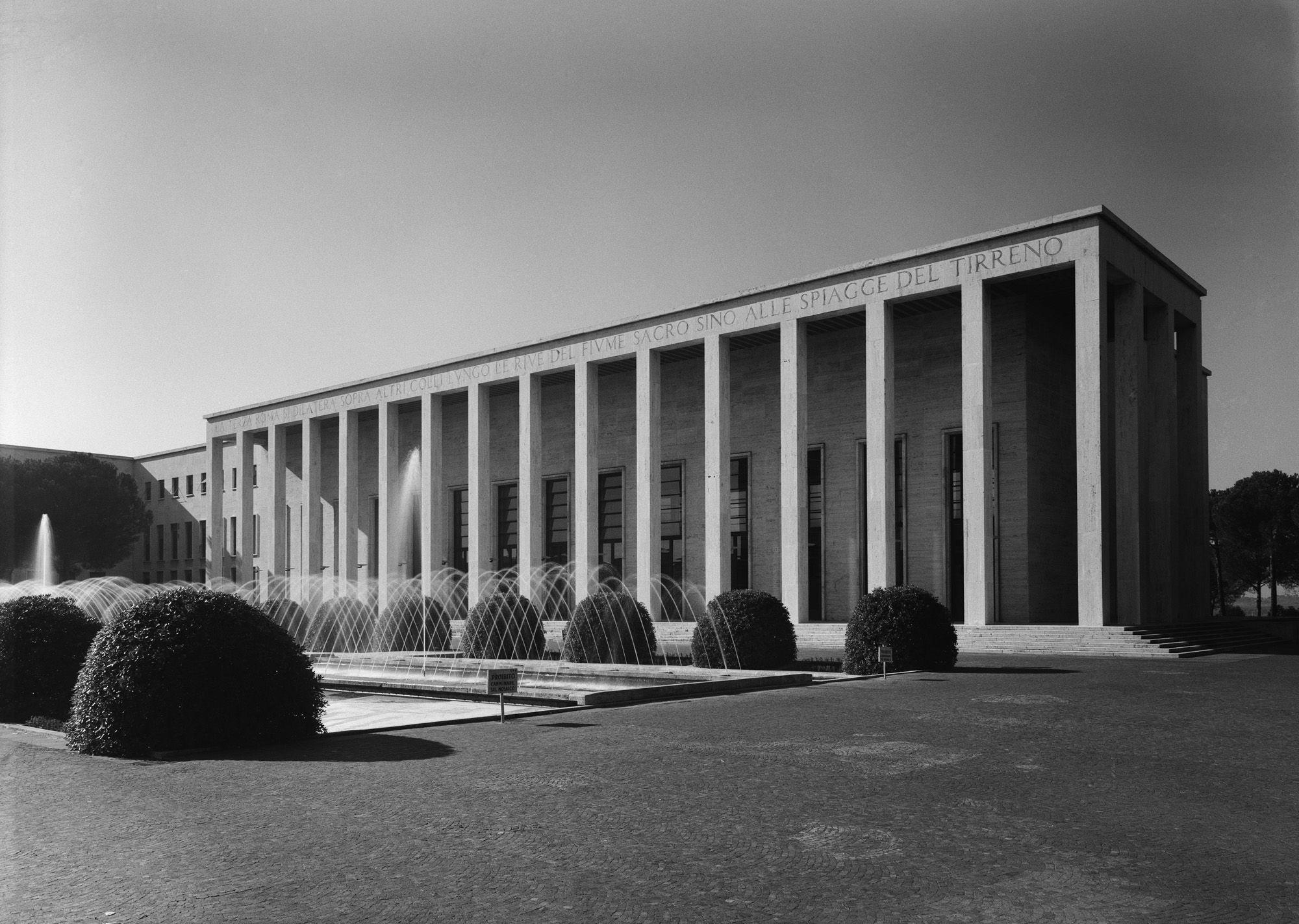 Palazzo Uffici, arc. Minnucci (secondo dopoguerra)