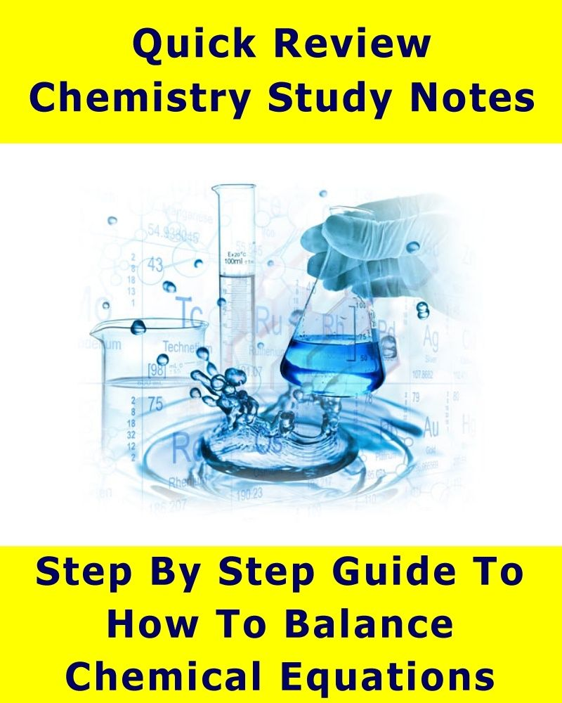 Step By Step Guide - How To Balance Chemical Equations