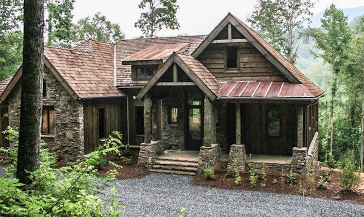 Balsam Mountain Lodge Plan No 14002 C Amicalola Home Plans Rustic House Plans Mountain House Plans Cottage Plan