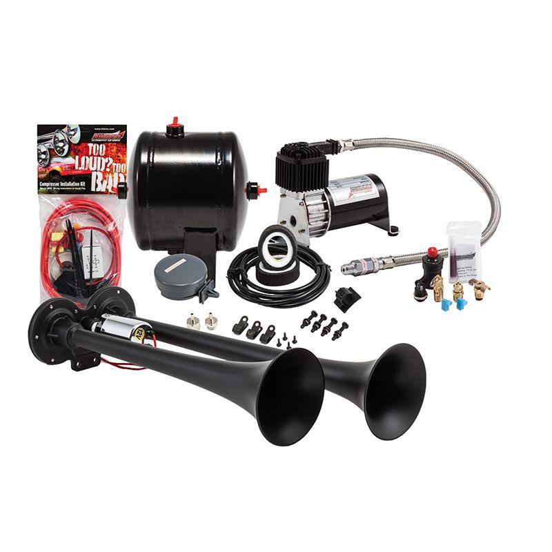 Kleinn HK21 Black Dual Truck Horn Kit (With images