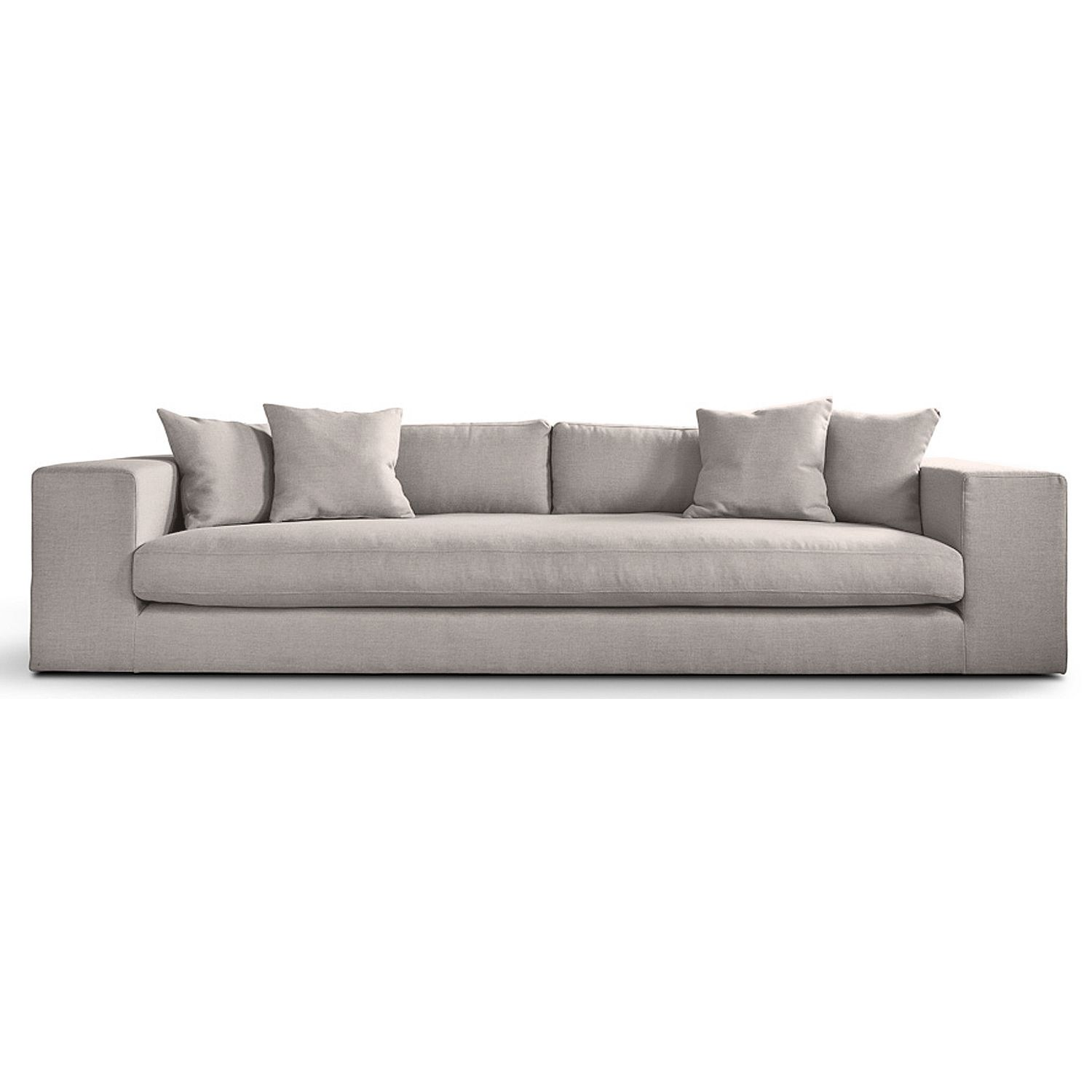 grey fabric sofa next mattress cover for sleeper barlow 4 seater day delivery