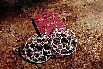 Náušnice - Náušnice - kruhy v obilí - 6024950_