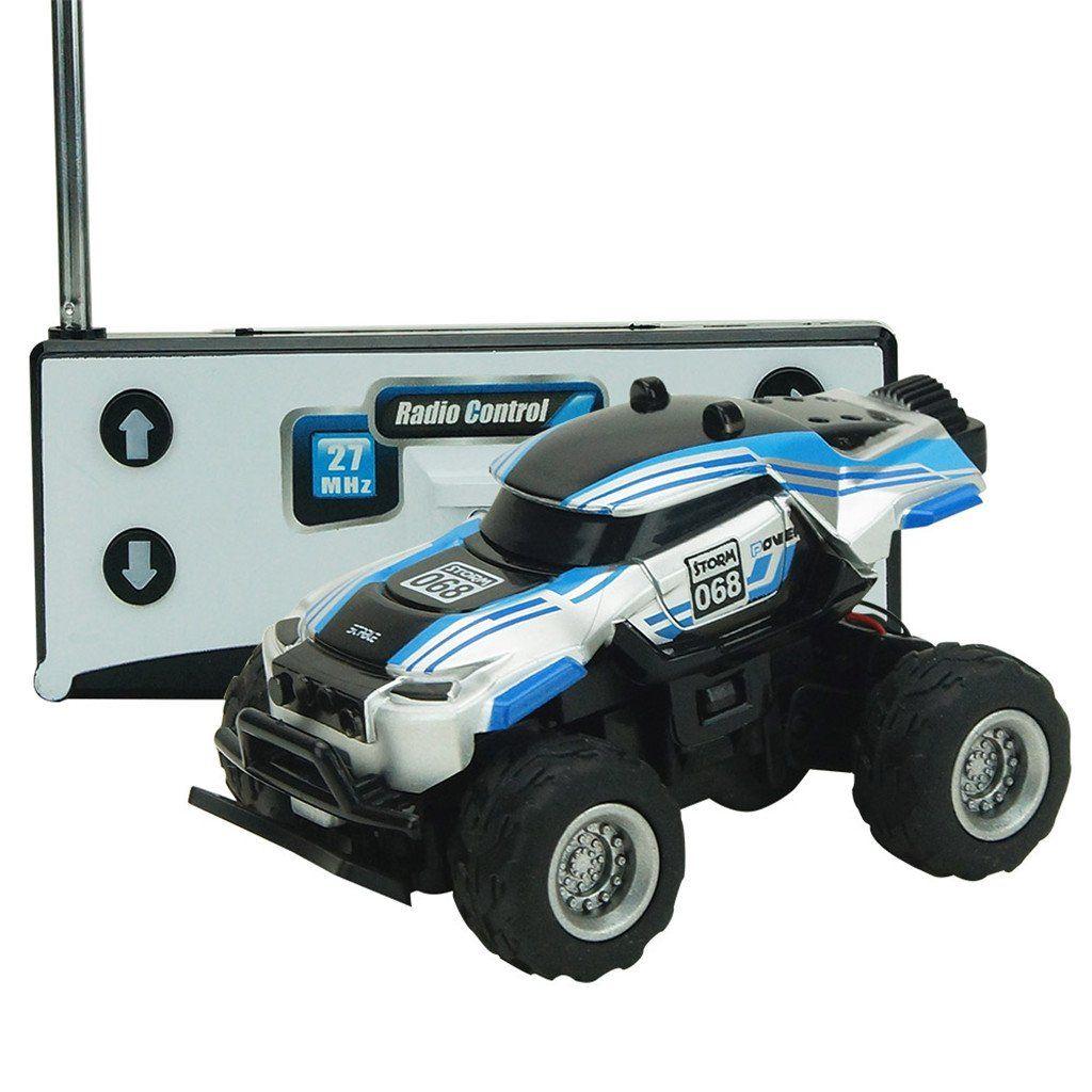 MonkeyJack Mini 4CH Remote Control RC Racing Car 1/58