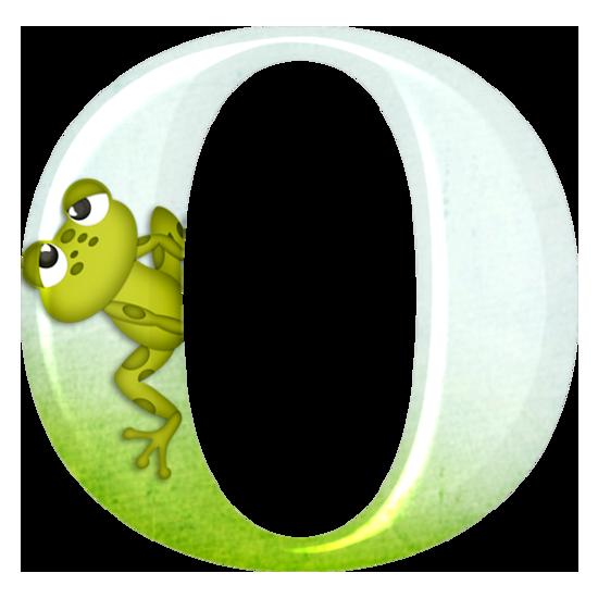 buchstabe  letter o  frösche frosch amphibien