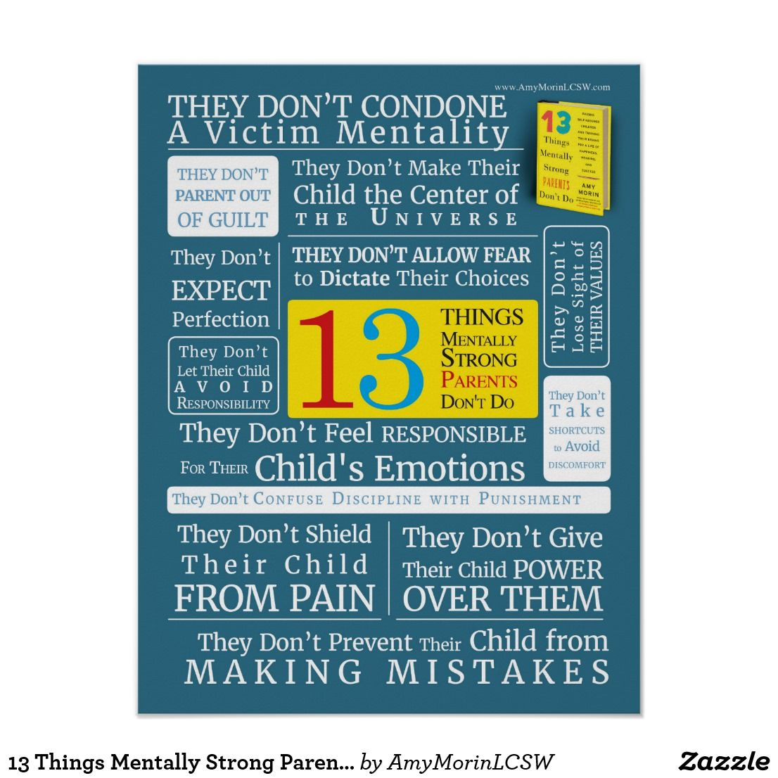 13 Things Mentally Strong Parents Don T Do Poster