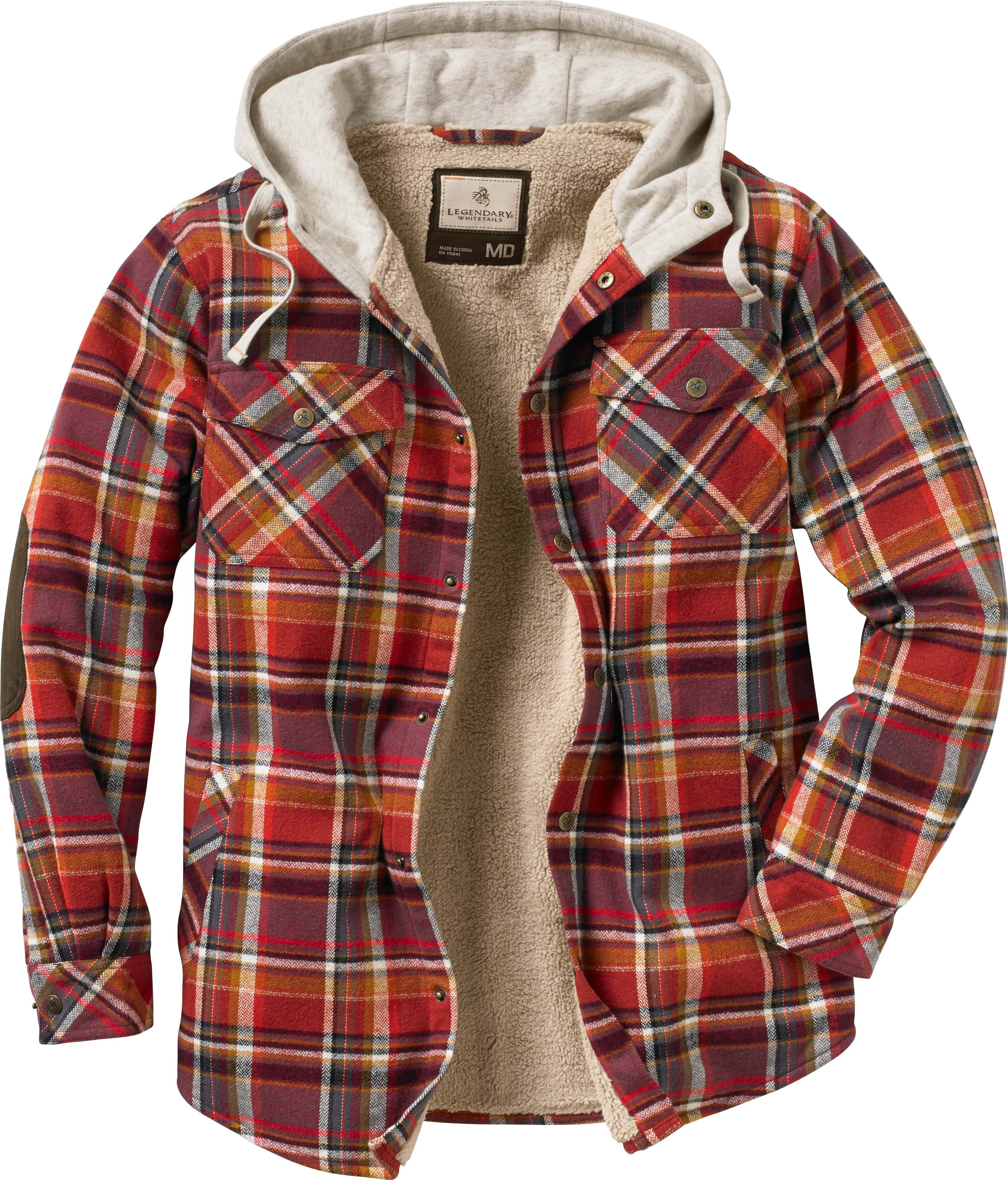 Camp Night Berber Lined Hooded Flannel Legendary Whitetails Flannel Fashion Hooded Flannel Flannel Jacket [ 3294 x 2813 Pixel ]