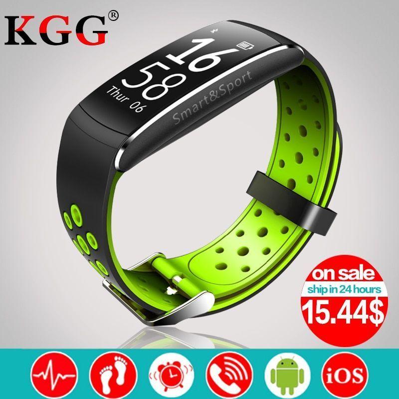 Q8 Smart band IP68 waterproof Smart Wristband Heart rate Fitness tracker Smart B... -  - #Band #Fitn...