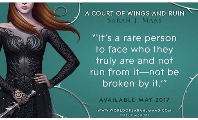 Ohmagod A Court Of Wings Ruin Sarah J Maas Books A Court Of