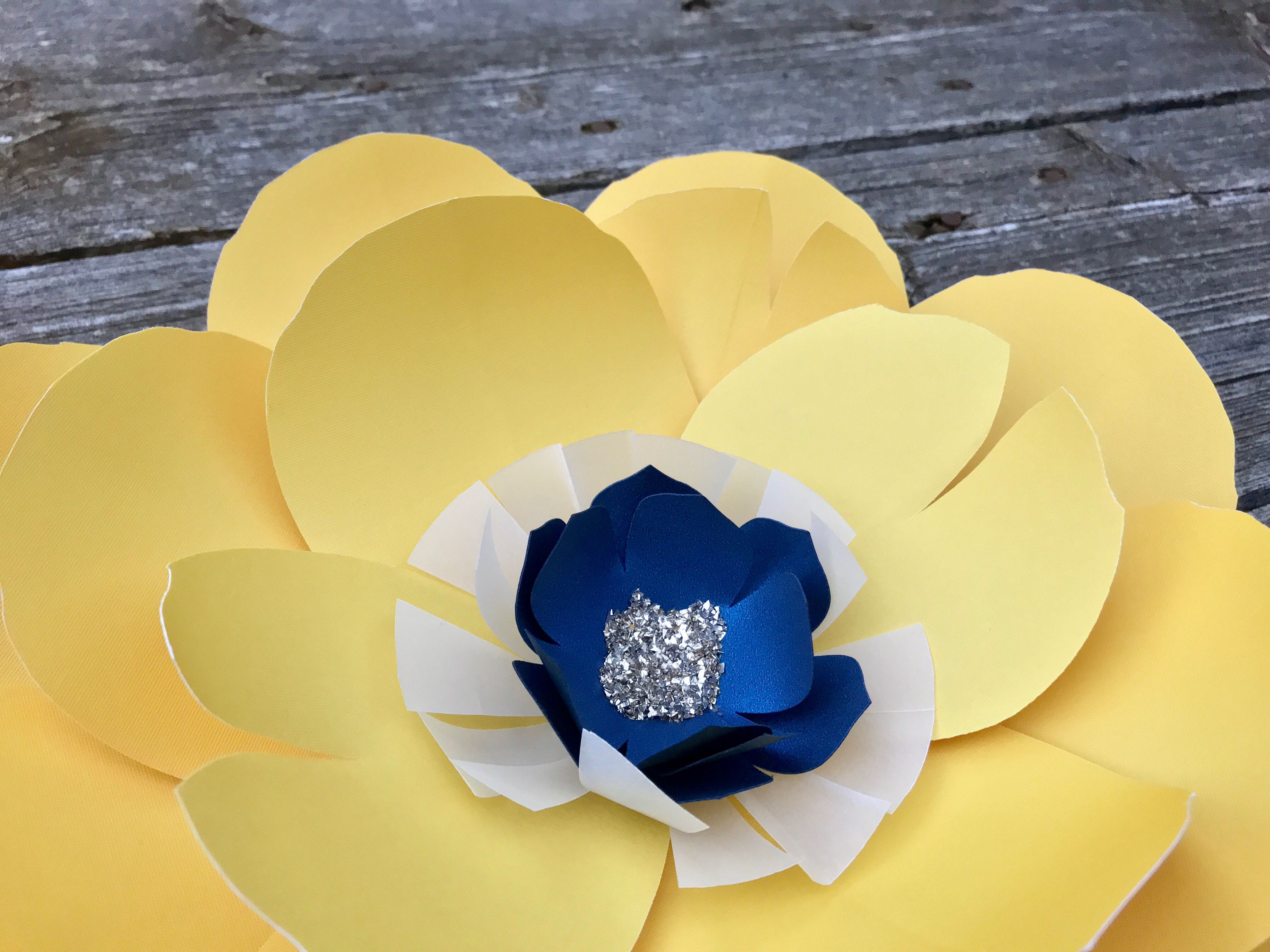 Paper flowers wall decor by Mi Prima Belle. A gorgeous addition to ...