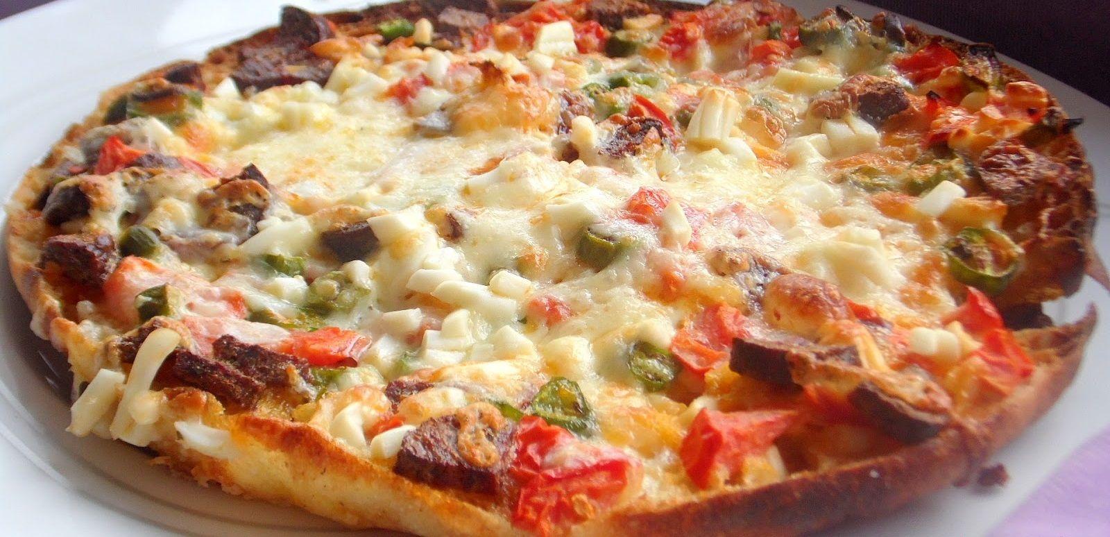 Kolay Pizza Tarifi Videosu