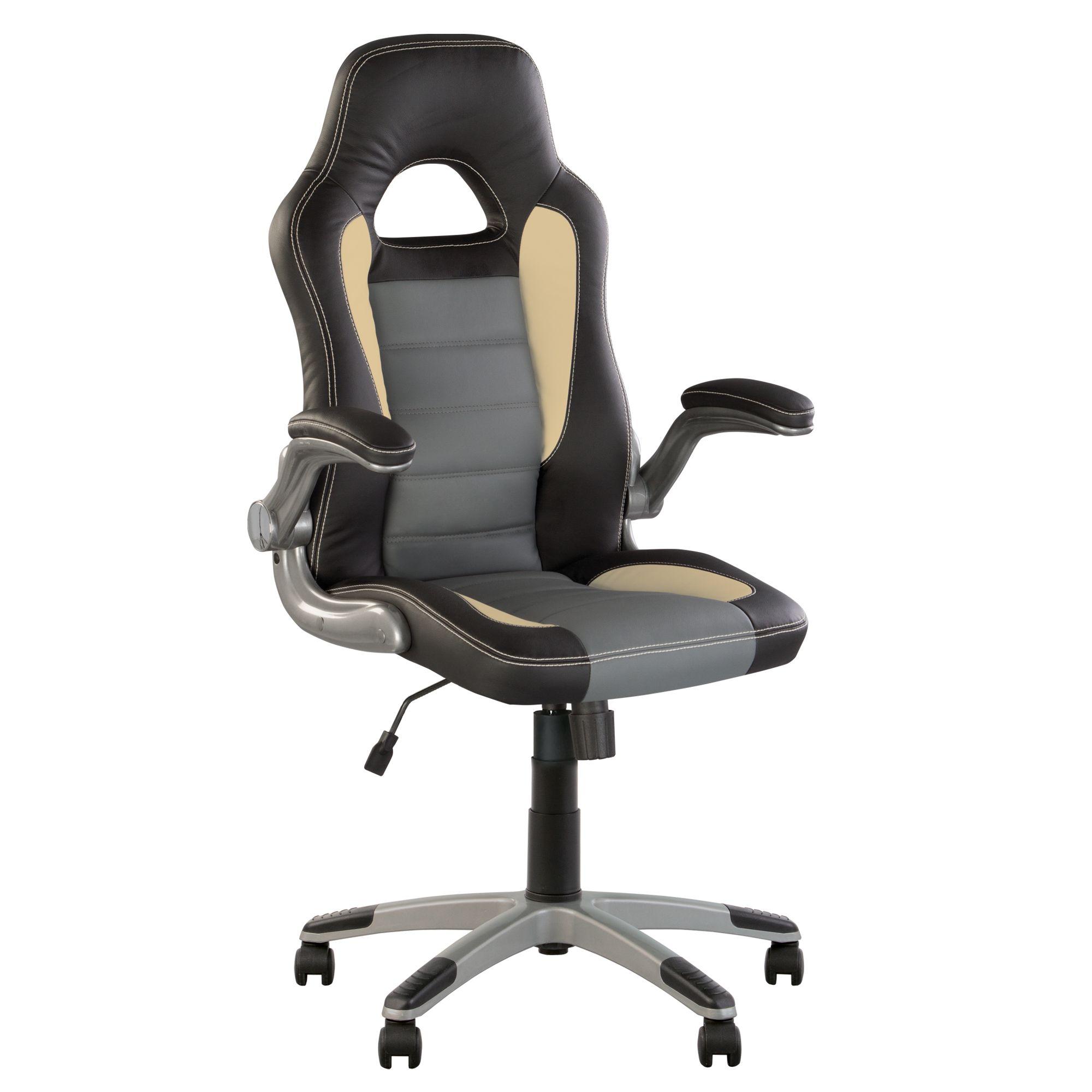 gris Racer direction de sportsynchronenoir fauteuil VSMpqUz