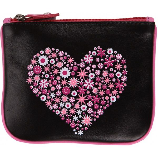 675a4ea3f8f Mala Leather Pinky Heart Leather Zip Top Coin Purse £12.00 available from  www.kubi