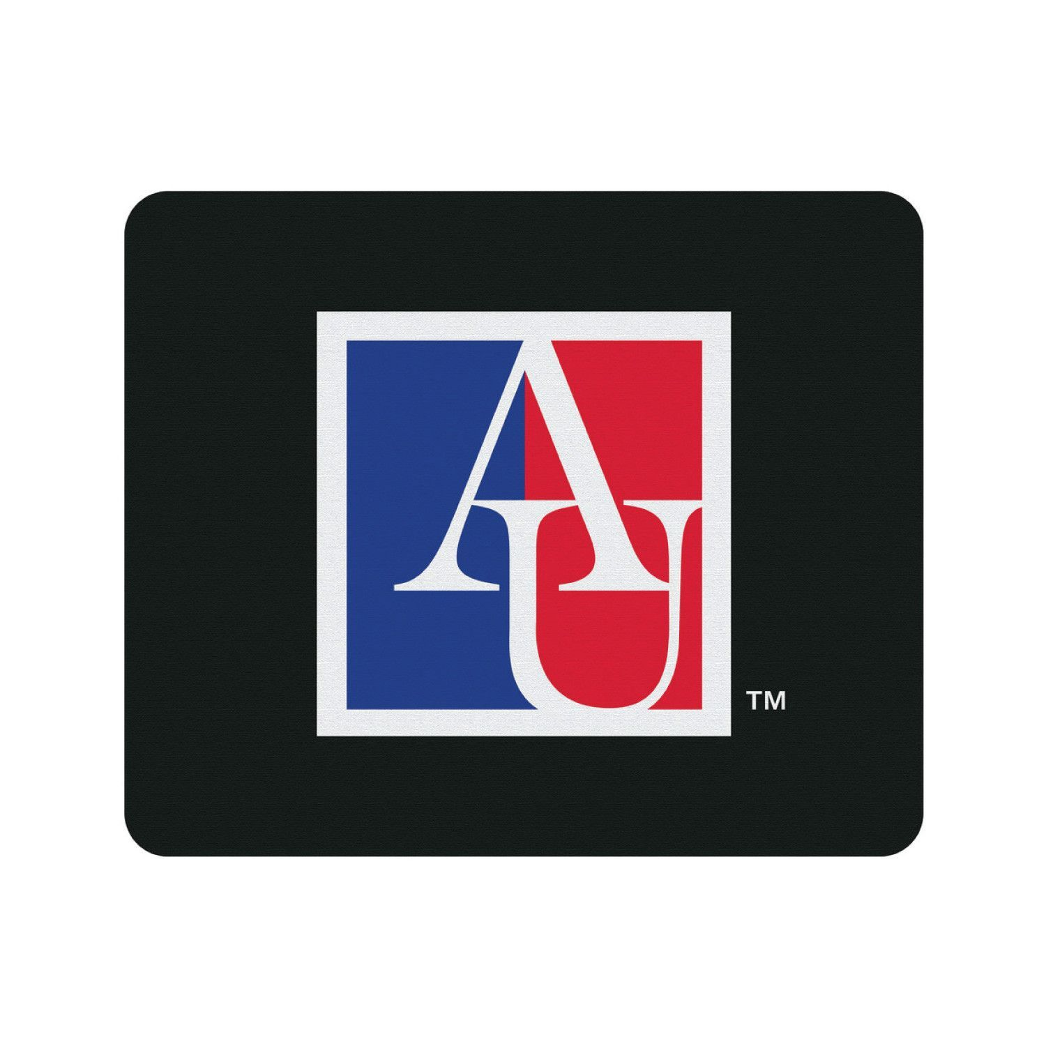 American University Black Mouse Pad Classic American