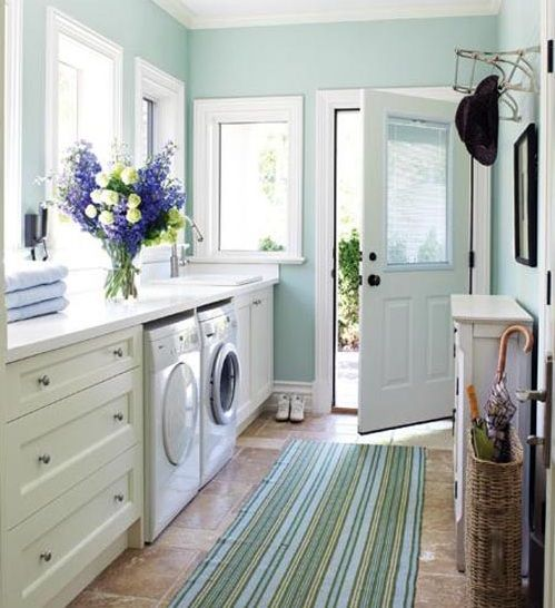 small laundry room colors small space laundry room paint color