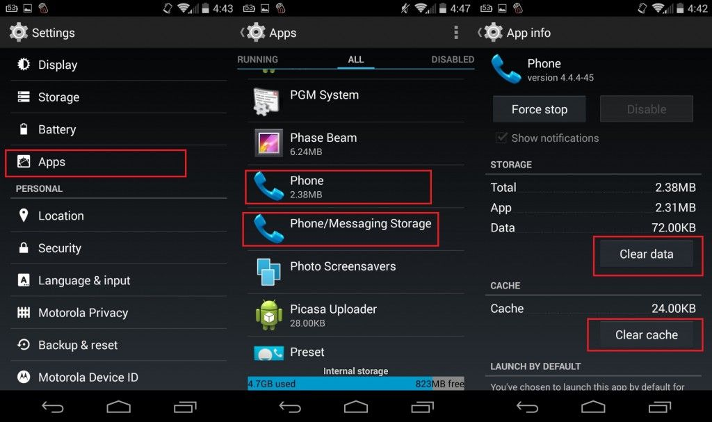 {Solved} Process com.android.phone has Stopped Working
