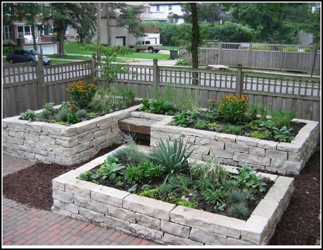 For Traditional Concrete Raised Garden Bed Designs It S Better