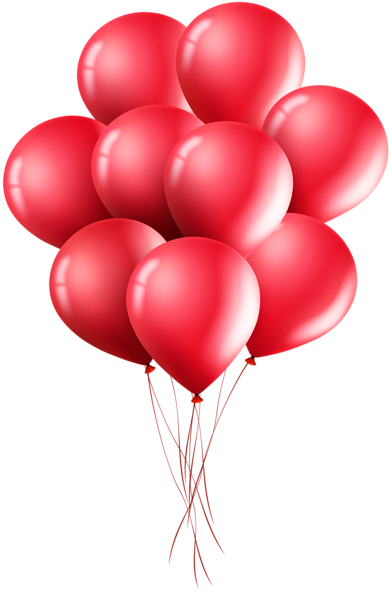 Red Balloons Png Clip Art Image Red Balloon Clip Art Birthday Photo Frame