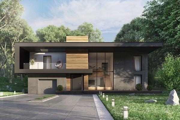 House · 50 stunning modern home exterior designs that have awesome facades