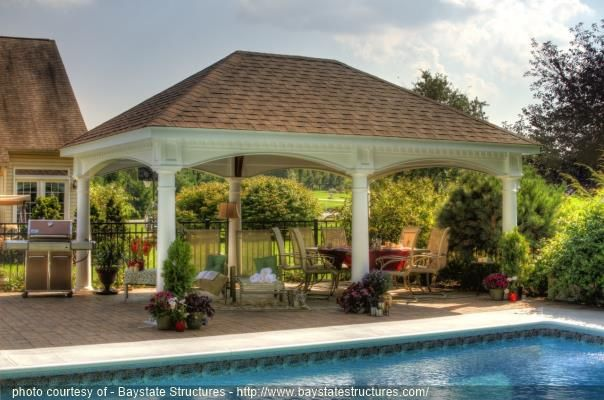Large Vinyl Pavilion Outdoor Pavilion Backyard Pavilion Pavillion Backyard