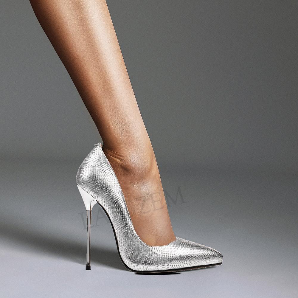 Women Party High Heels 13cm Platform Shoes Boots Pointed Toe Stilettos Sandals