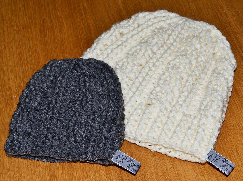 Gratis patrón: sombrero de ganchillo con trenzas | Crochet ...
