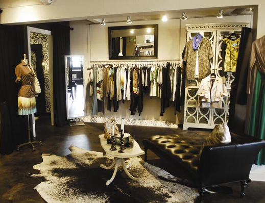 Display clothing at home like a cute boutique things for Designer home stores