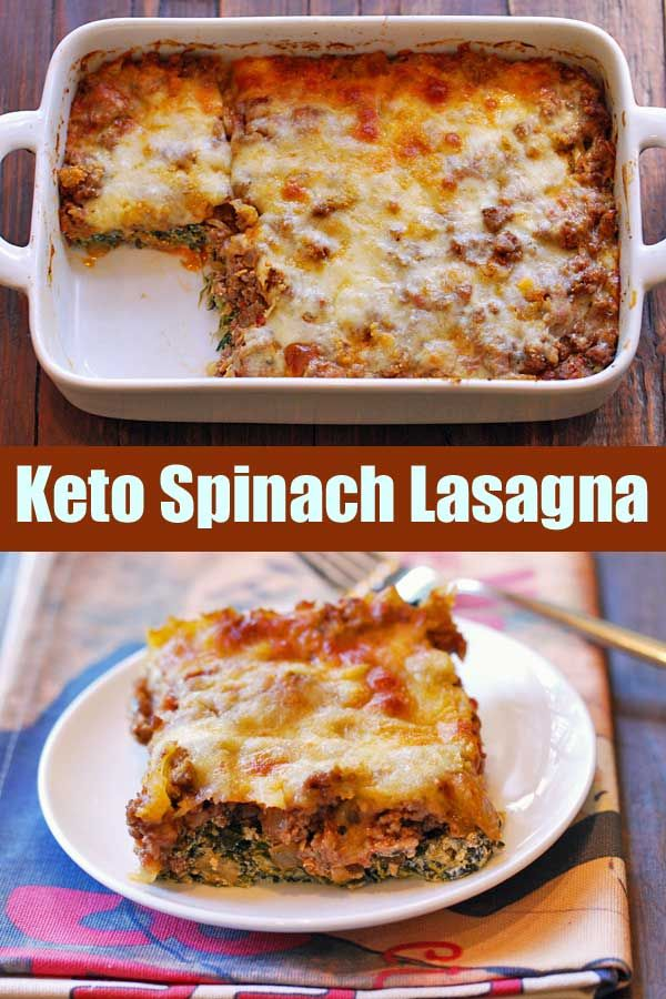 Keto Lasagna With Ground Beef And Spinach Healthy Recipes Blog Recipe Healthy Food Blogs Ketogenic Recipes Spinach Lasagna