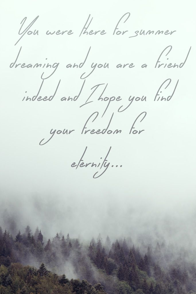 Lyric freedom lyrics gospel : You were there for summer dreaming and you are a friend indeed and ...