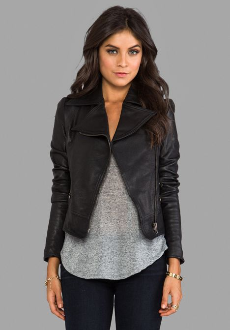 PRIMARY Moto Jacket in Black