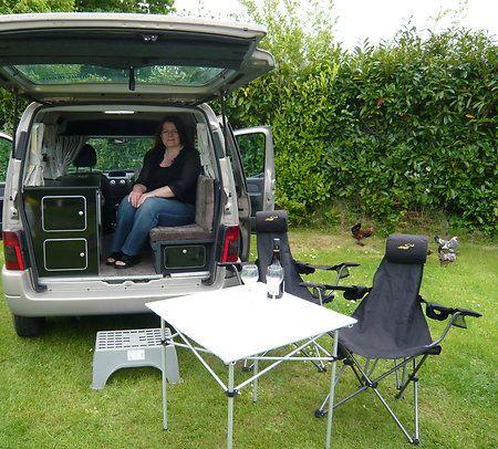citroen berlingo micro camper campervan 113 0 van. Black Bedroom Furniture Sets. Home Design Ideas