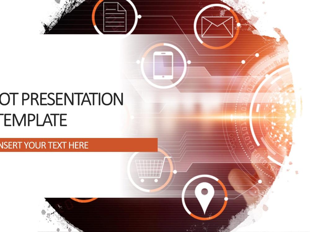 IOT Presentation Cover Slide 2
