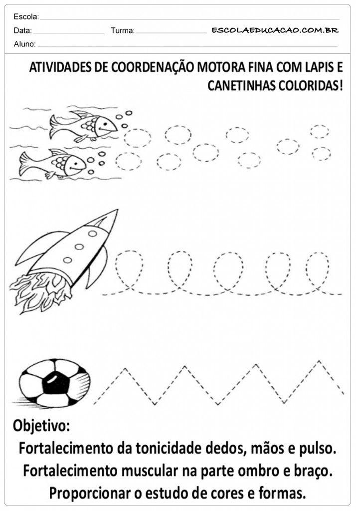 Top Atividade de Coordenação Motora Fina | Nairfeltro | Pinterest GU32