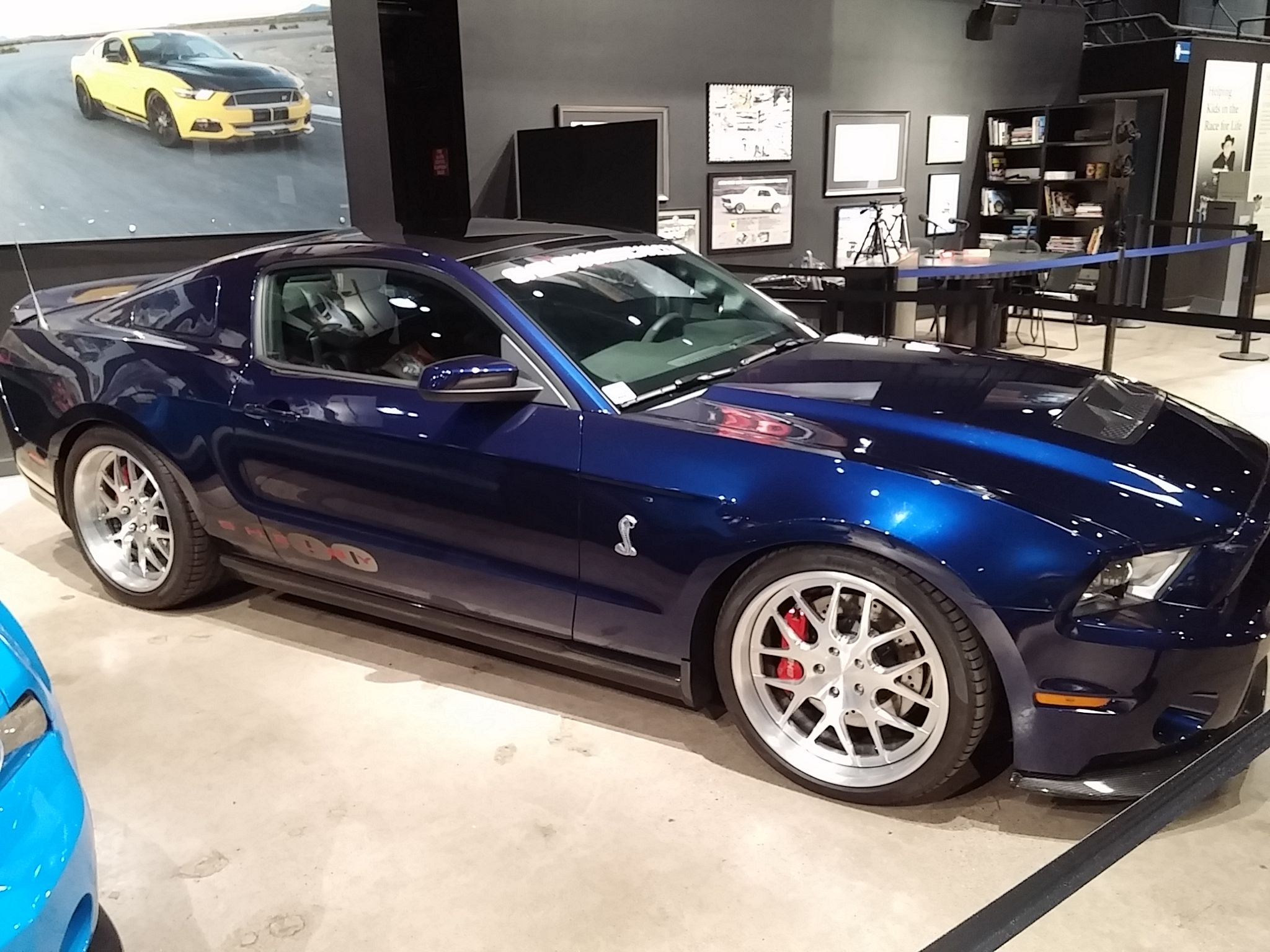 New Shelby 1000 on display and For Sale at the Shelby American