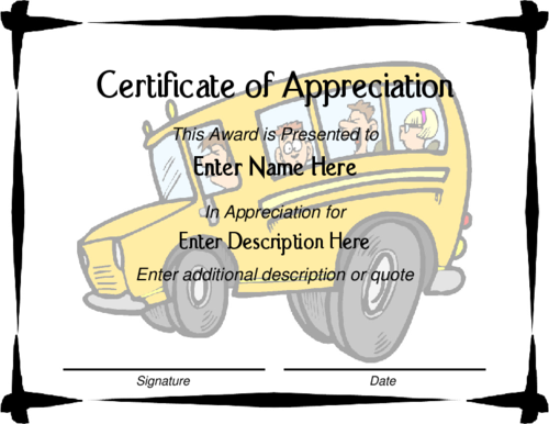 Award Certificate Templates  Prek Fall And Pumpkins
