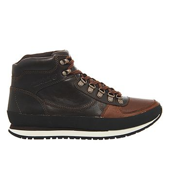 Timberland Casselton Alpine Chukka Boots Dark Brown Leather - Casual