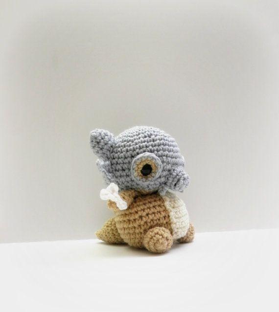 Crochet Cubone Inspired Chibi Pokemon | Patrones amigurumi y Patrones
