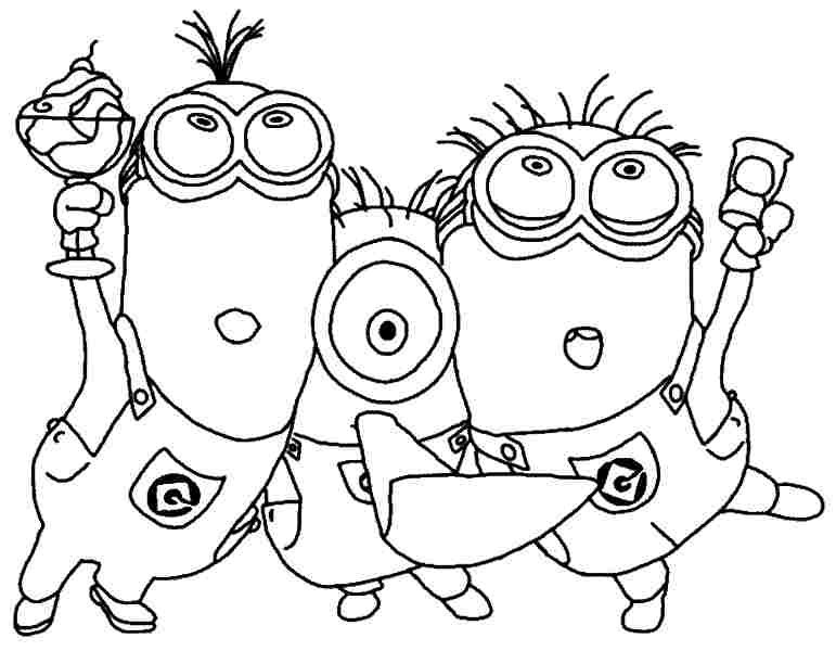 Free Printable Coloring Pages Minions Lovely Coloring Minion Free Coloring Pages Desire Mini Minion Coloring Pages Disney Coloring Pages Minions Coloring Pages