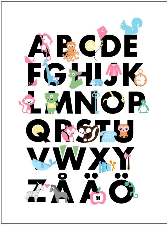 ABC-affisch