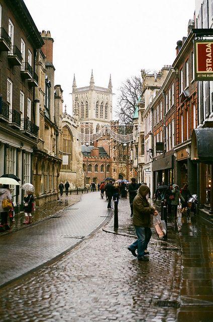 A Rainy Cambridge by marcus hessenberg, via Flickr