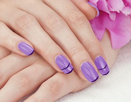 15 Easy Nail Art Designs To Do With A Toothpick And Tutorial