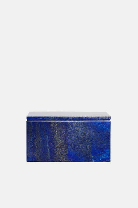 Collected By The Line Extra Large Lapis Box Color