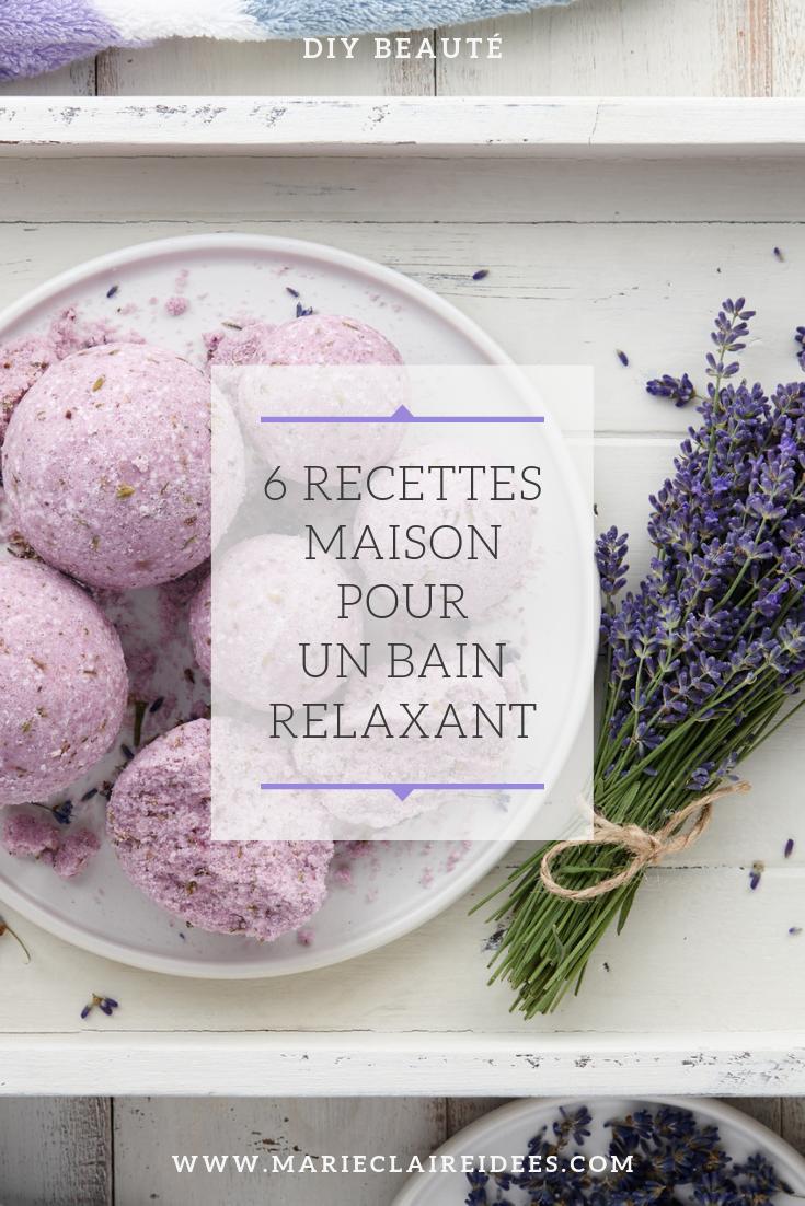 6 Recettes Maison Pour Un Bain Relaxant Bain Relaxant Recette Maison Bon Bain
