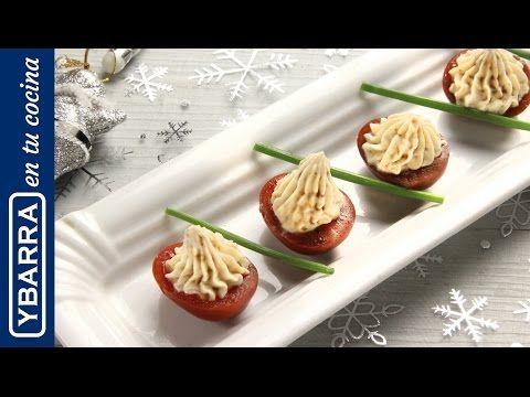 Aperitivo navideño: Tomatito relleno - Ybarra