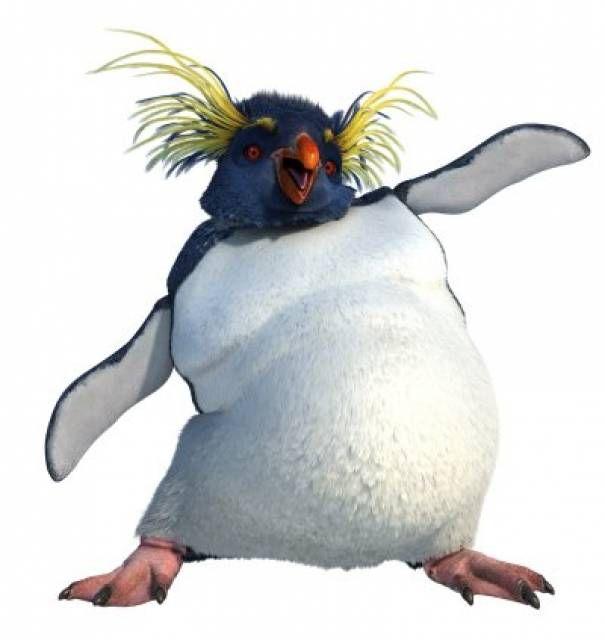 Happy Feet Lovelace Robin Williams Is A Rock Hopper Penguin He Thinks Of Himself As A Guru Many Penguins Come To Him W Happy Feet Happy Feet Two Penguins