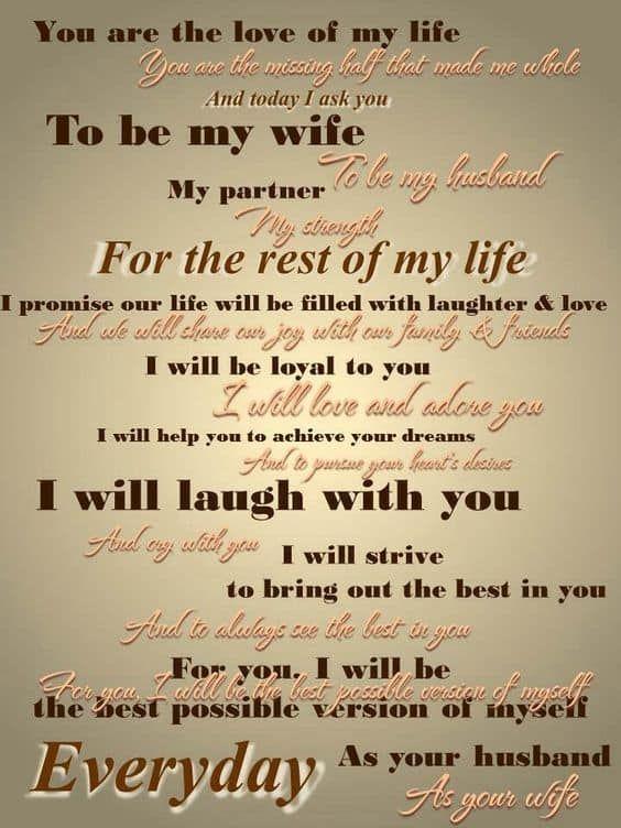 cute wedding vows 10 best photos | Wedding vows, Nontraditional ...