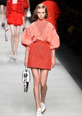 FENDI, Fashion shows • Milano Moda Donna S/S 2016