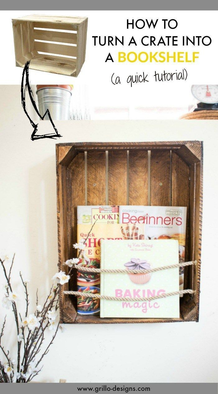 Photo of CREATE WITH ME CHALLENGE: DIY-Bücherschrank mit Seil • Grillo des …, #Bookcase #Box #CHALL …